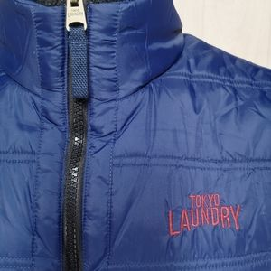 Tokyo Laundry Large Puffer Vest NEW